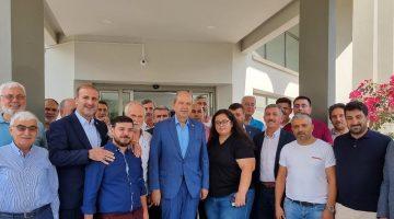 Kıbrıs Gezisi için Önder Karan'a teşekkür ettiler