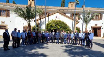Ömer Faruk Bürtek'ten Kıbrıs Cumhurbaşkanına ziyaret