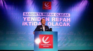 """Fatih Erbakan: """"Anket Firmaları Bizim Oylarımızı Kararsızlara Yazıyor"""""""