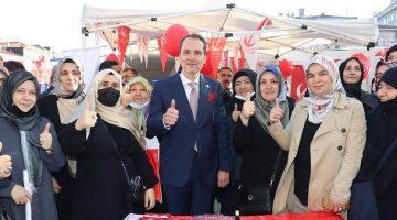 """Fatih Erbakan: """"asıl itibar vatandaşın refah seviyesidir"""""""