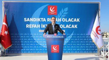 """Fatih Erbakan: """"O partilerden bu millete hayır gelmez"""""""