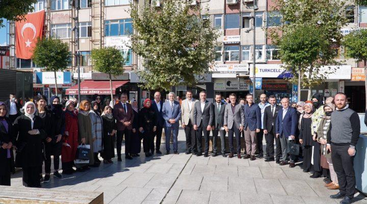 AK Parti'den, 105 haneye eş zamanlı sosyal politika çalışması