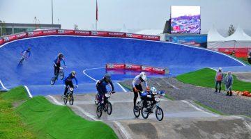 Sakarya'da BMX heyecanı devam ediyor