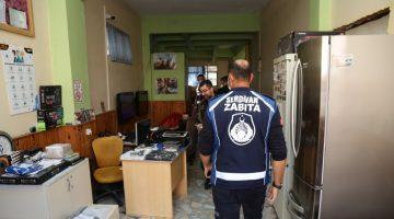 Serdivan'da internet kafe ve oyun salonları denetlendi